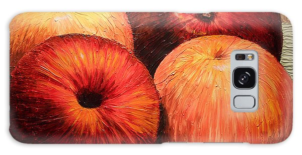 Apples And Oranges Galaxy Case by Joey Agbayani