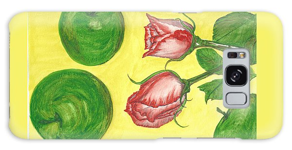 Apples And Roses Galaxy Case