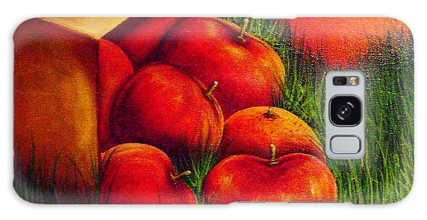 Apples At Sunset Galaxy Case