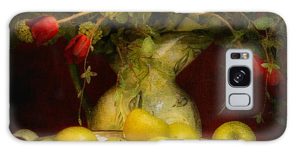 Apples Pears And Tulips Galaxy Case