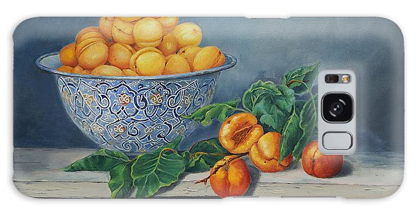 Apricots And Peaches Galaxy Case