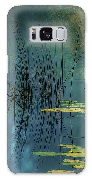 Plant Galaxy Case - Aqua by Andreas Agazzi
