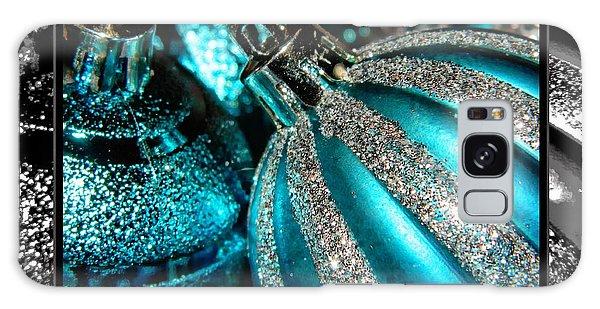 Aqua Baulbs Galaxy Case by Michelle Frizzell-Thompson