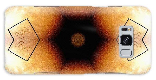 Galaxy Case featuring the digital art Aquarian Stardrum by Derek Gedney
