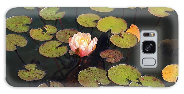 Aquatic Garden With Water Lily Galaxy Case