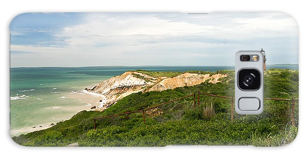 Aquinnah Gay Head Lighthouse Marthas Vineyard Massachusetts II Galaxy Case