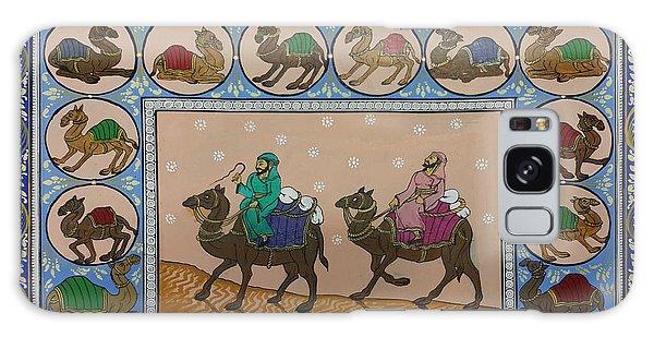 Arab Men In Desert Galaxy Case