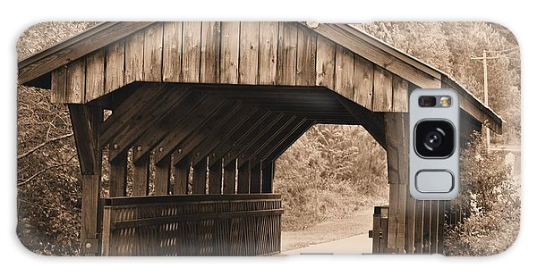 Arabia Mountain Covered Bridge Galaxy Case by Tara Potts