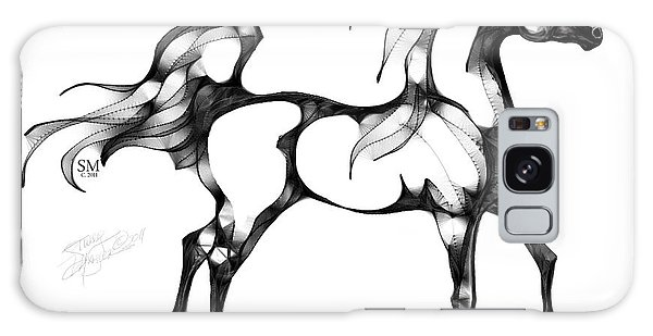 Arabian Horse Overlook Galaxy Case by Stacey Mayer