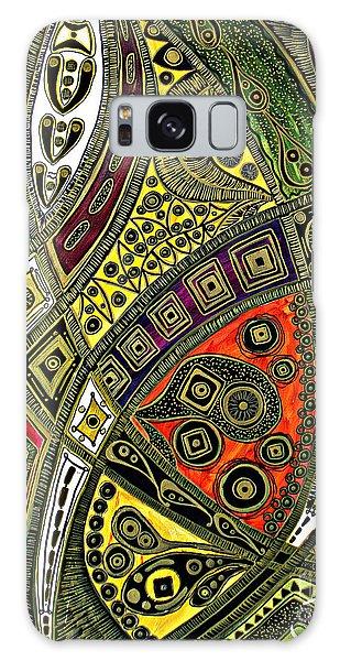 Arabian Nights Galaxy Case by Jolanta Anna Karolska