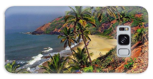 Arambol Beach India Galaxy Case