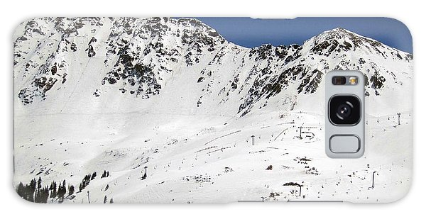 Arapahoe Basin Ski Resort - Colorado          Galaxy Case by Fiona Kennard