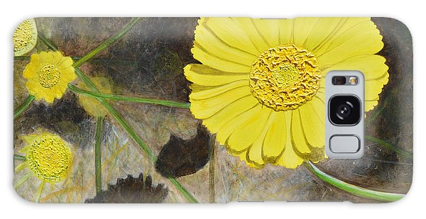 Arboretum Wild Flower  Galaxy Case by Donna  Manaraze
