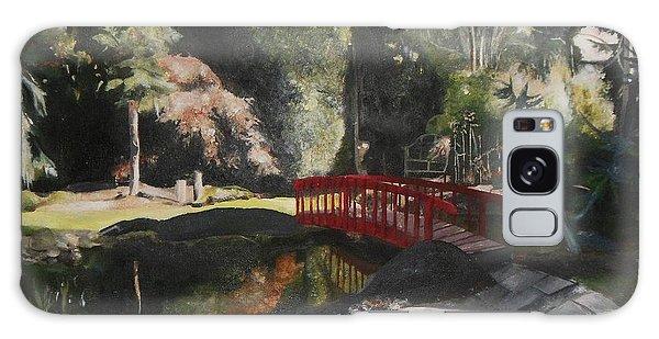 Arbour Bridge Galaxy Case by Cherise Foster