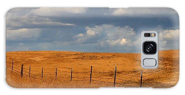 Arbuckle Fence Line Galaxy Case