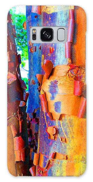 Arbutus Tree Summer Galaxy Case