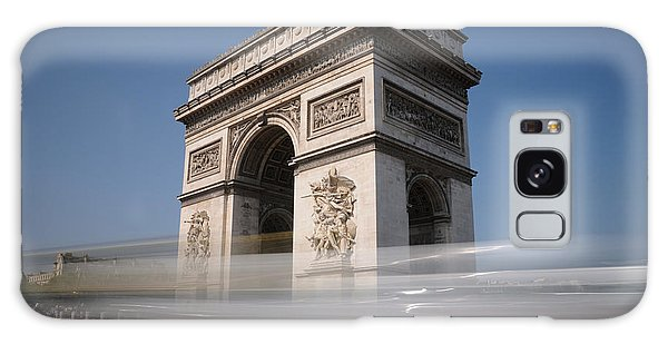 Arc De Triomphe Galaxy Case by Jeremy Voisey