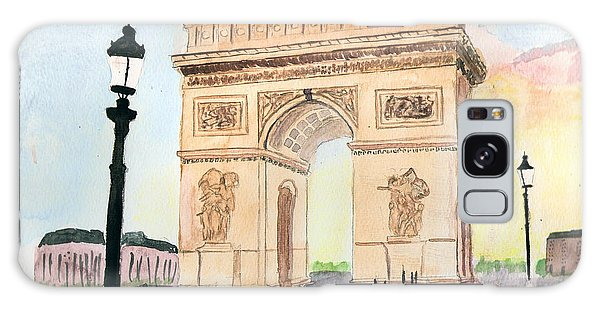 Arc De Triomphe Galaxy Case
