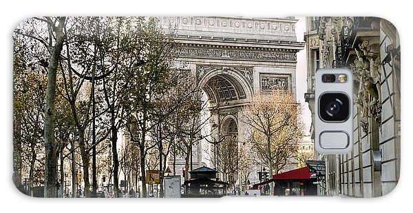 Arc De Triomphe Paris Galaxy Case