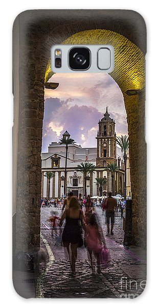 Arc Of The Rose Cadiz Spain Galaxy Case by Pablo Avanzini