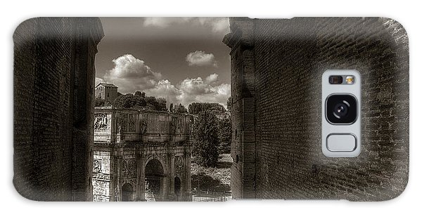 Arch Of Constantine From The Colosseum Galaxy Case