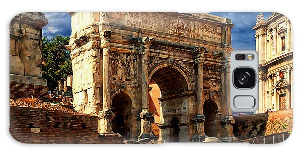 Arch Of Septimius Severus Galaxy Case