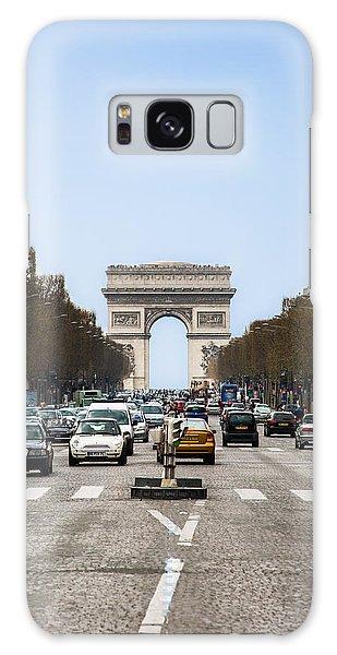 Arch Of Triumph In Paris Galaxy Case