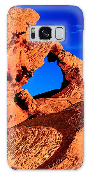 Arch Rock In The Valley Of Fire Galaxy Case