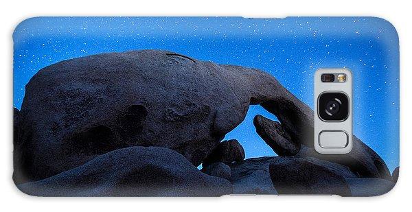 Arch Rock Starry Night 2 Galaxy Case by Stephen Stookey