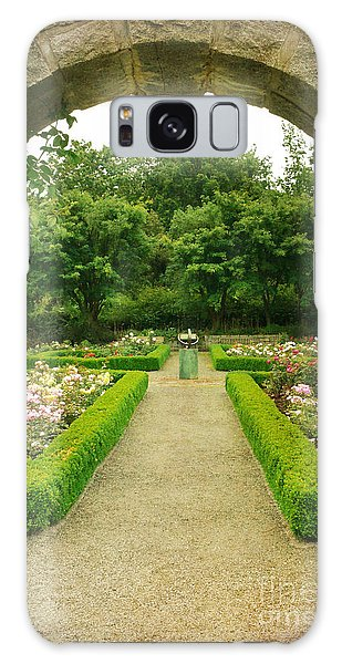 Arch To The Rose Garden Galaxy Case by Maria Janicki