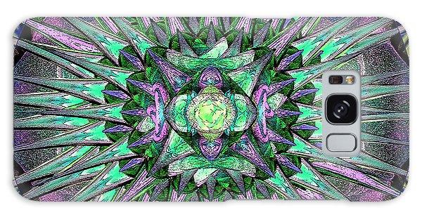 Archangels Gather Mandala Galaxy Case