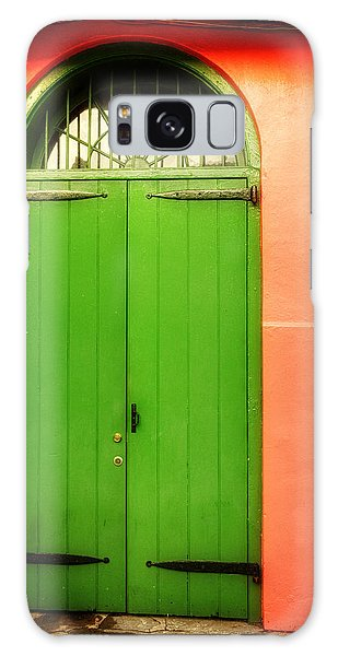 Arched Door In New Orleans Galaxy Case