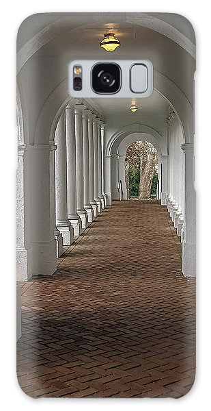 Arches At The Rotunda At University Of Va Galaxy Case by Jerry Gammon