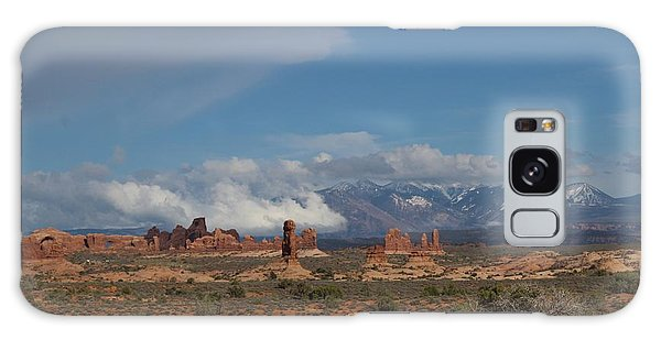 Arches National Monument Utah Galaxy Case