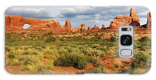 Arches National Park Panorama Galaxy Case by Dave Mills