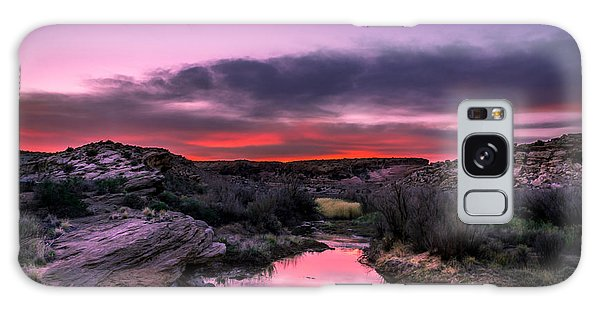 Arches Trail Hike Galaxy Case by Michael J Bauer