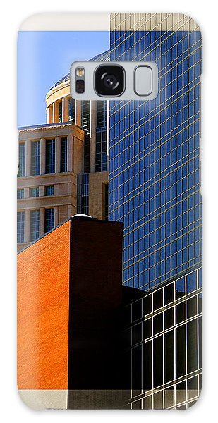 Architectural Stone Steel Glass Galaxy Case