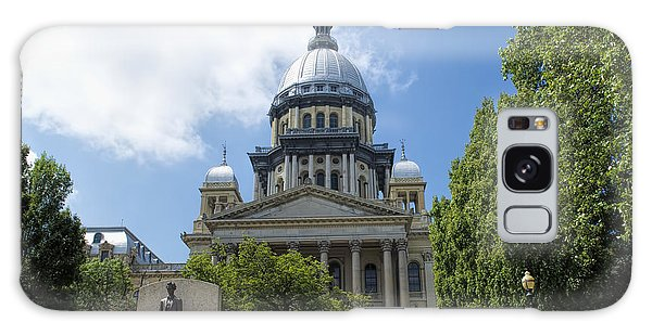 Architecture - Illinois State Capitol  - Luther Fine Art Galaxy Case