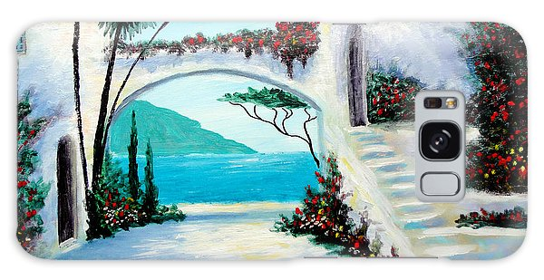 Archway  By The Sea Galaxy Case