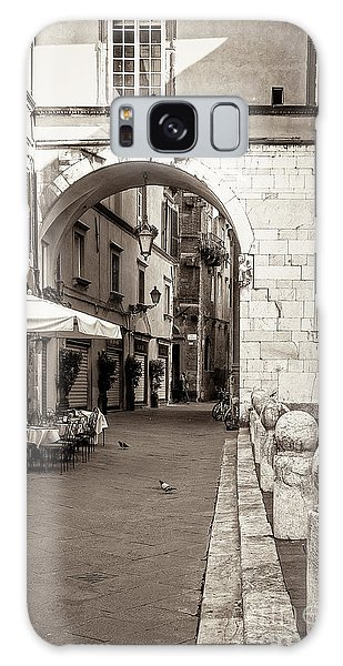 Archway Over Street Galaxy Case