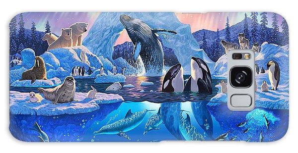 Polar Bear Galaxy S8 Case - Arctic Harmony by Chris Heitt