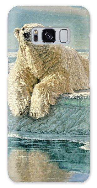 Polar Bear Galaxy S8 Case - Arctic Heir by Paul Krapf