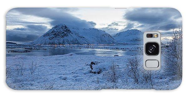 Arctic Morning Galaxy Case