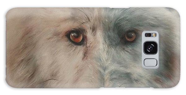 Arctic Wolf Galaxy Case by Cherise Foster