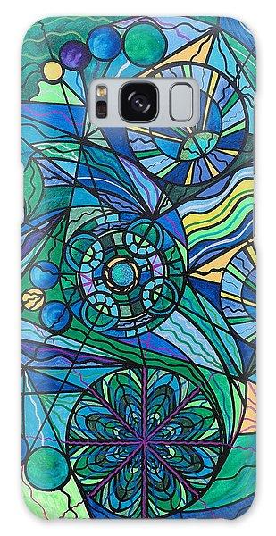 Healing Galaxy Case - Arcturian Immunity Grid by Teal Eye Print Store