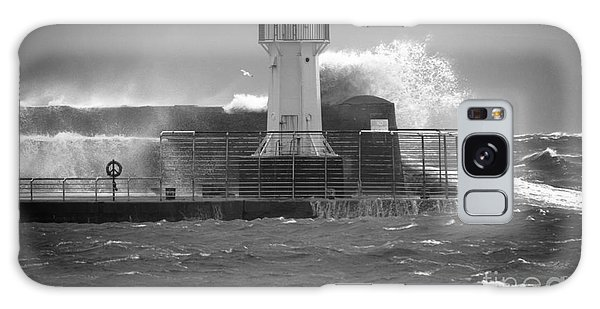 Ardrossan Lighthouse Versus The Sea Galaxy Case