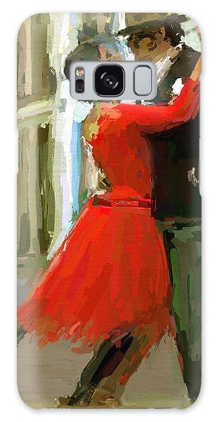 Argentina Tango Galaxy Case by James Shepherd