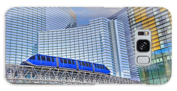 Aria Las Vegas Nevada Hotel And Casino Tram  Galaxy Case