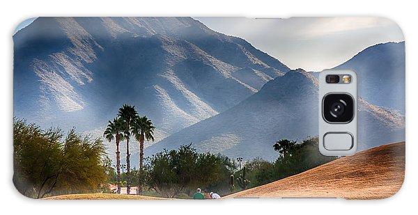 Arizona Sunrise Golfing Galaxy Case