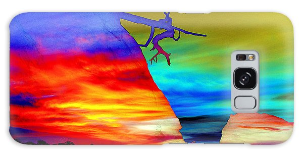 Arizona Sunset Collage Galaxy Case